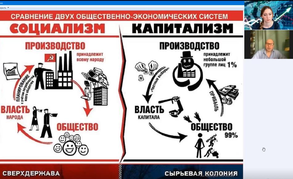 Капитализм или социализм, выбор пути на наших глазах.