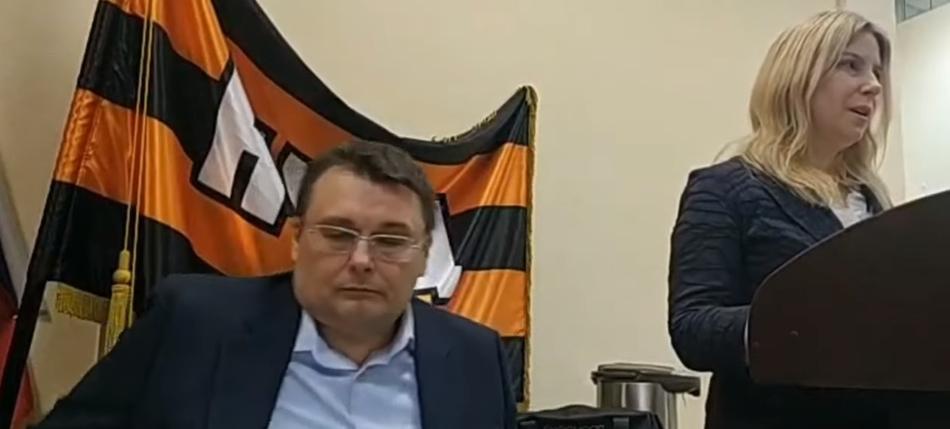 Фёдоров Е.А.  и другие на совете координаторов НОД
