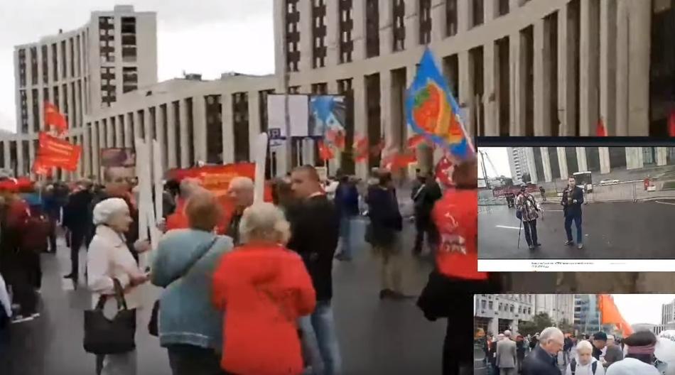 Песня Татьяны порвала протест оппозиции