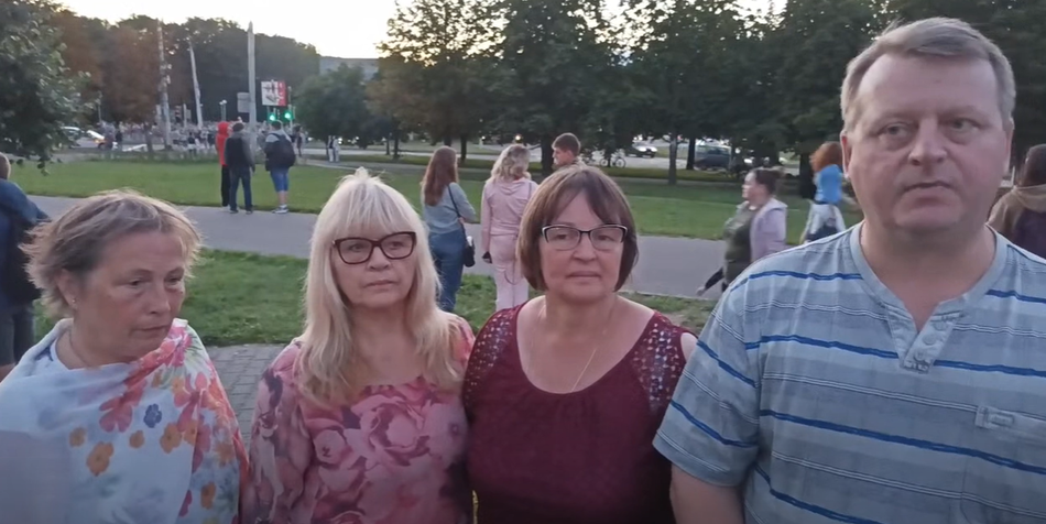 Коментарии после протестунов, Минск 30.07.2020 г