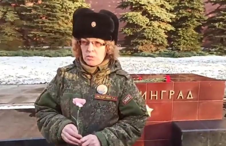 Сталинград 23 февраля ровно год сбора подписей возложение цв
