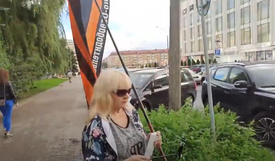 НОД РОМШ на Митинге в Минске 27.08.2020г.