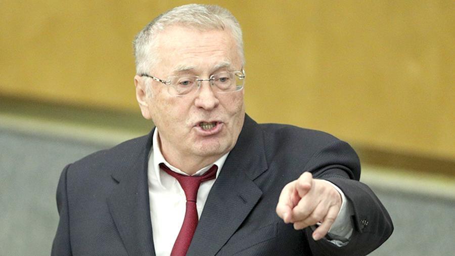 Жириновский за суд над Горбачевым, Госдума