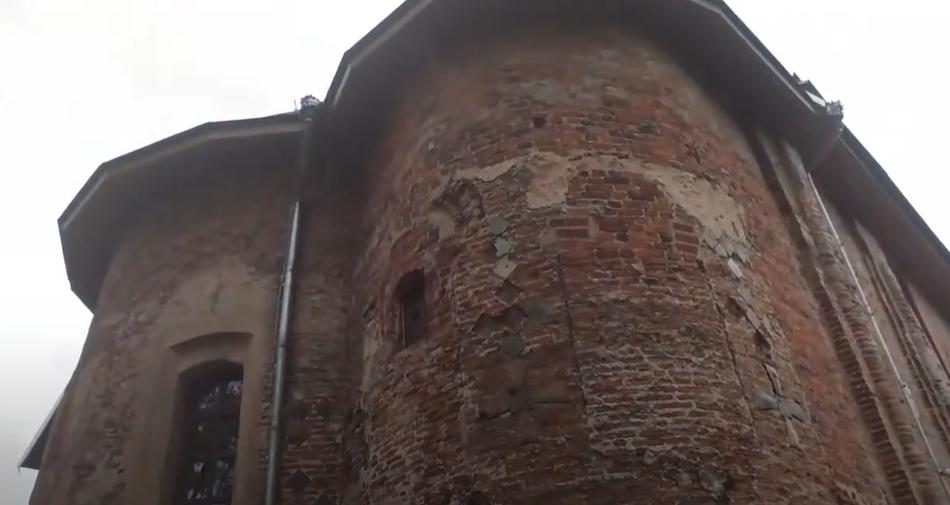 Церковь 1170 г. постройки. Гродно